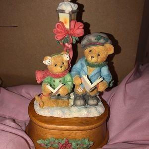 Other - Xmas Bear music figurine! NWT